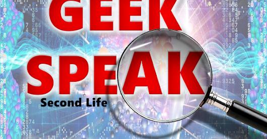GeekSpeak – Space Debris- Join the discussion April 7th at 12pm SLT