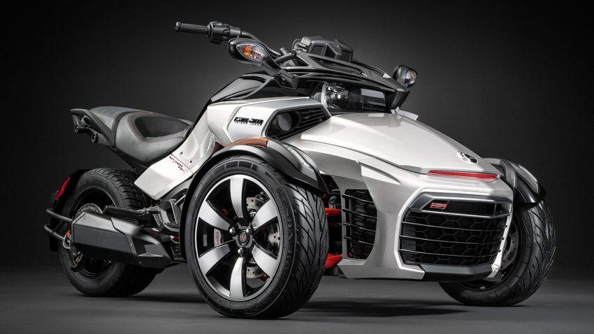 Siêu ba bánh Can-Am Spyder F3-S 2016 - Từ concept đến thực tế