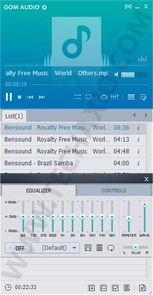 GOM Audio Screenshot