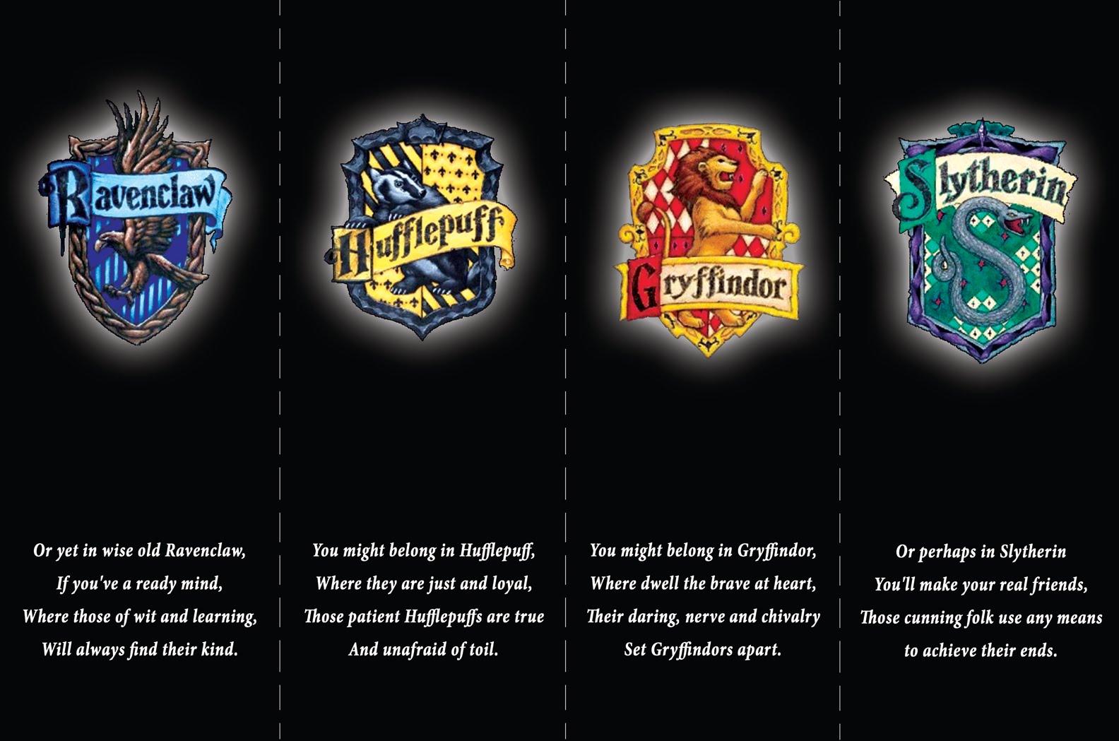 hogwarts haus test