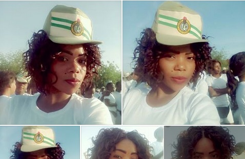 this female corper disgraced herself