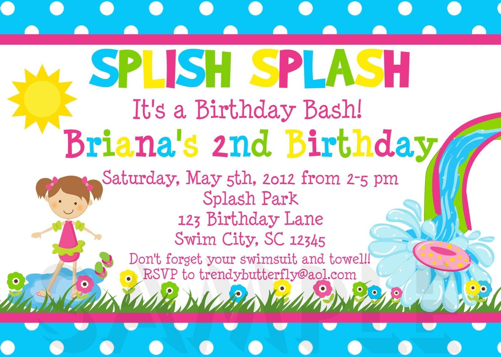 Birthday Card Sample
