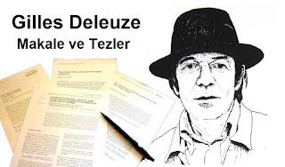 Gilles Deleuze - Makale ve Tezler