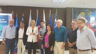 Διεθνής διάκριση της Περιφέρειας Αττικής για την ανάδειξη των νησιών του Σαρωνικού