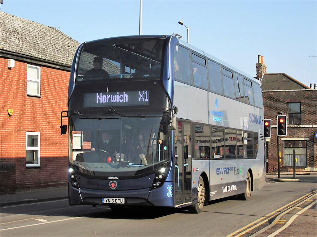 East Norfolk (and East Suffolk!) Bus Blog: Demonstrator In ...