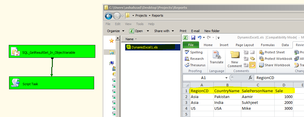 Welcome To TechBrothersIT: SSIS - Create Excel File