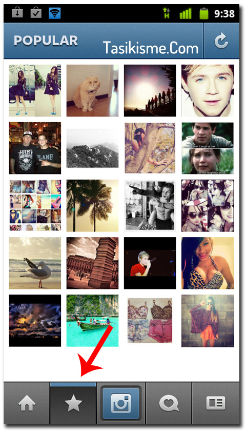 Instagram Android 2012