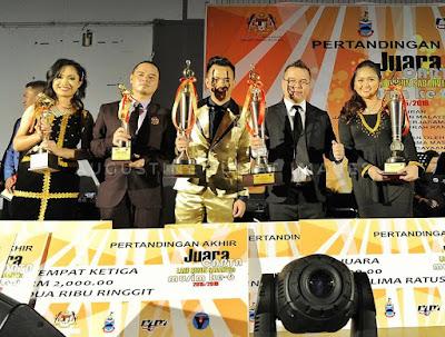 Pemenang Pertandingan Akhir Juara Carta Lagu Dusun SabahVFM