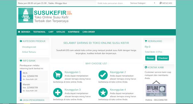 website susukefir100.com