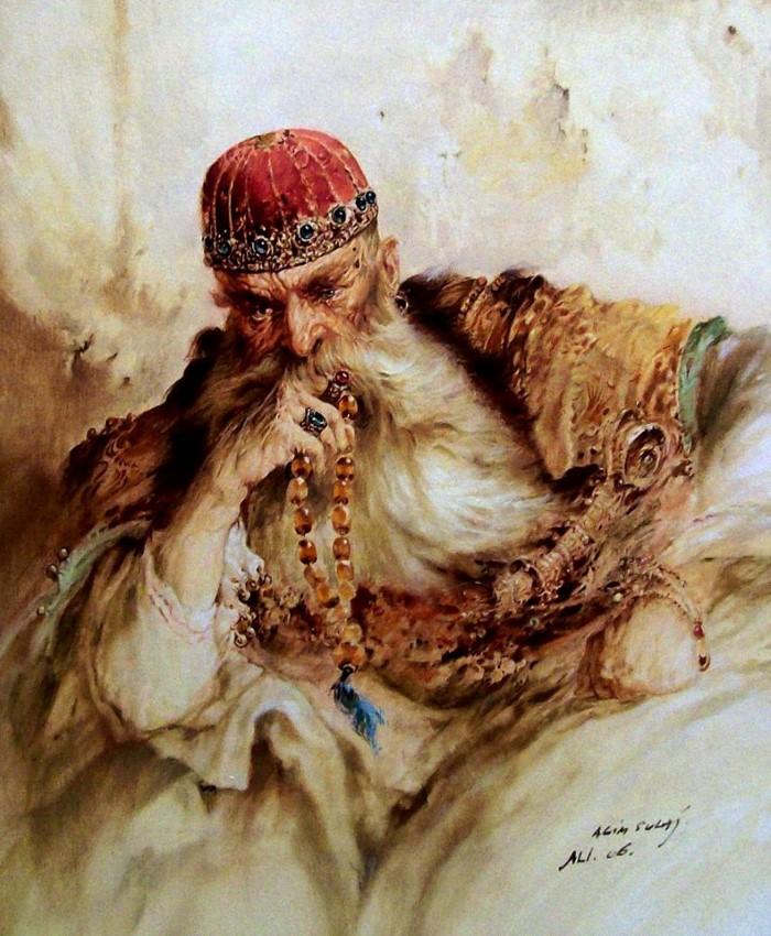 Албанский художник. Agim Sulaj