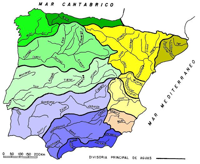 Resultado de imagen de blogspot mapa vertiente hidrografica