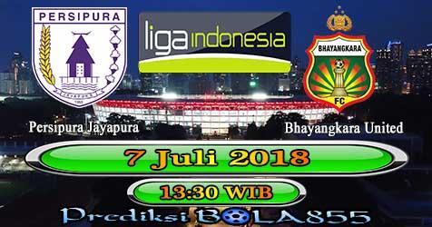 Prediksi Bola855 Persipura Jayapura vs Bhayangkara Utd 7 Juli 2018