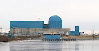 Clinton Nuclear Generating Station in Clinton, Ill., the focus of a recent effort to save the state's nuclear power. (Photo Credit: Daniel Schwen / Wikipedia) Click to Enlarge.