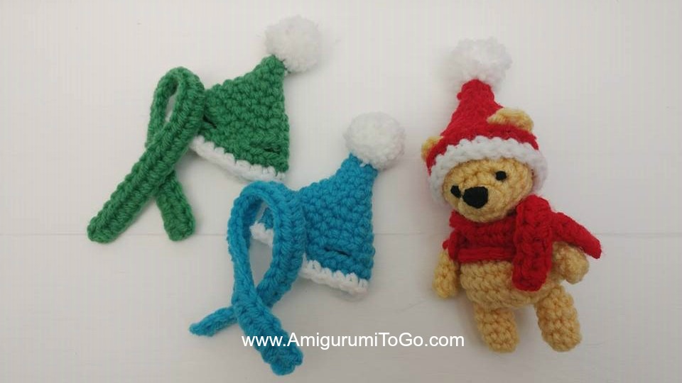 Christmas Ornaments - Reindeer, Penguin and Polar Bear amigurumi ... | 540x960