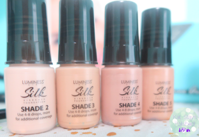 Luminess Air Legend - Shade 2, 3, 4, 5 | Kat Stays Polished