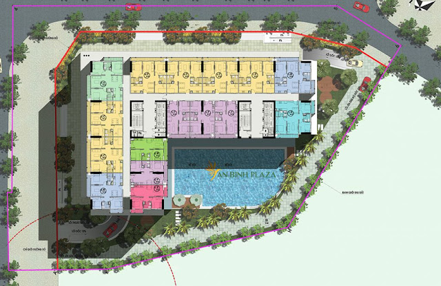 Mặt bằng tầng 4-31 - Tầng căn hộ