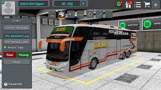 Livery Bus Bussid Po Eka Terbaru New RN 285