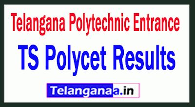 TS Polycet Results 2019 Telangana Polytechnic Entrance 2019 Results Rank cards