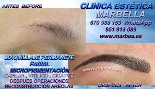 micropigmentyación Málaga clínica estetica propone los especial servicio para micropigmentyación, maquillaje permanente de cejas en Málaga y marbella