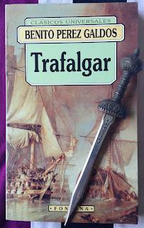 Portada del libro Trafalgar, de Benito Pérez Galdós