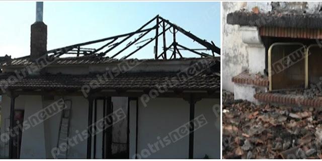 Μπορείτε να βοηθήσετε αυτή την εξαμελή Eλληνικη οικογένεια; Το σπίτι τους έγινε «στάχτη» και το κρατος κοιμαται