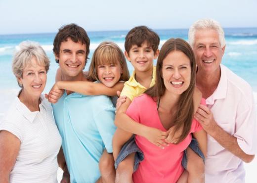 Como vai a sua família?