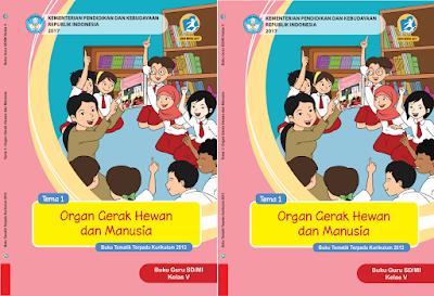 Buku Kelas 5 Guru dan Siswa Semester 1 dan 2 Kurikulum 2013 Revisi 2017