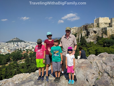 Traveling with kids to Athens
