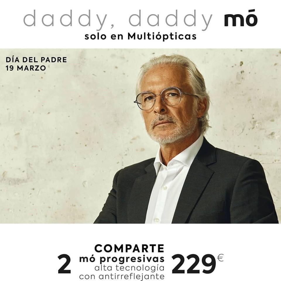 614d0cf7d3 Blog de MultiOpticas SANZ: Papá, ¡estrena gafas nuevas! 2 gafas mó  progresivas con antirreflejante, 229 euros.