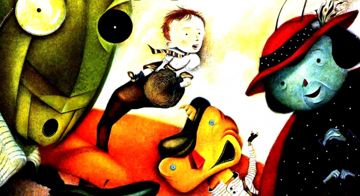 James And The Giant Peach Hd Wallpapers Wide Wallpapers