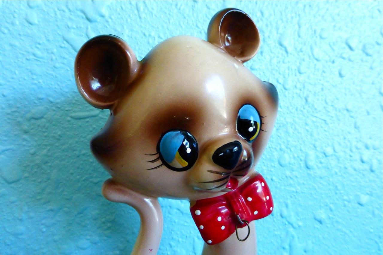 Ries Japan, Hand Decorated, kawaii, cute, Made in Japan, Ries figurine