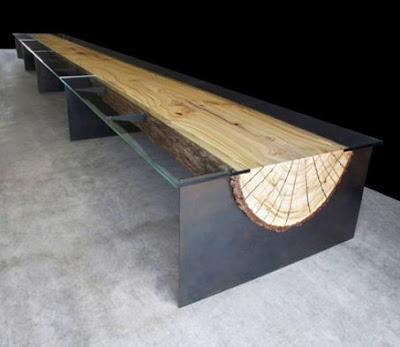 Model Unik Meja Ruang Tamu Sederhana