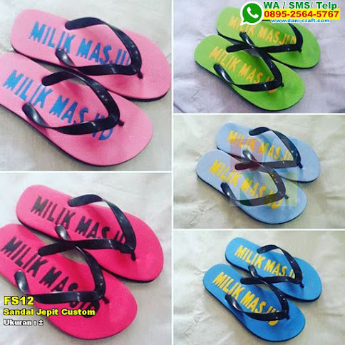 Sandal Jepit Custom