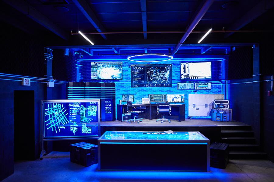 Sala de controle de Tej, Fast & Furious Supercharged, Universal Studios Florida