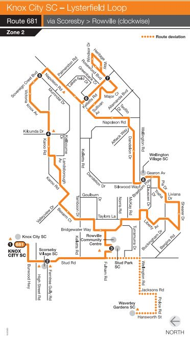 Melbourne on Transit: Timetable Tuesday #3 - Bus route 681