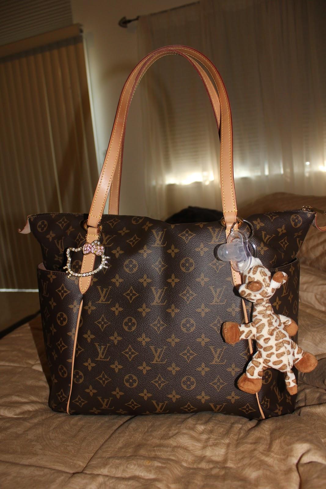 Inside My Louis Vuitton Diaper Bag