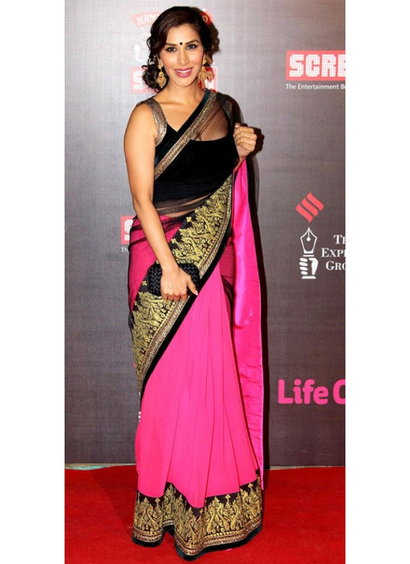 Pink Saree: Saree Blouse Designs: What Type Of Blouse To Pair With