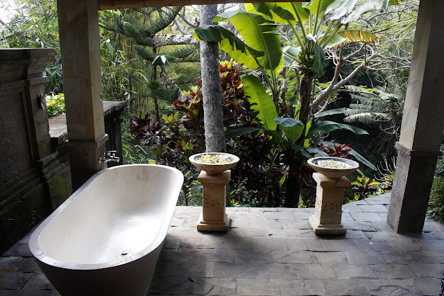 Otra perspectiva de la sala de masajes del Hotel Bunga Permai de Ubud (Bali)