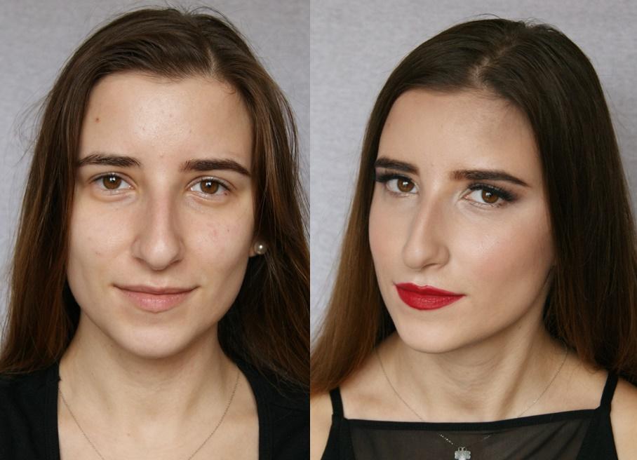 Make Yourself Up Makijaż Glam Dla Opadającej Powieki Krok Po Kroku