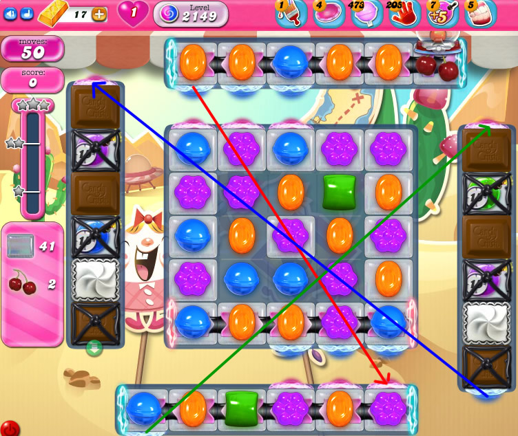Candy Crush Saga level 2149