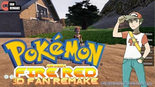 Pokemon Origin Fire Red 3D