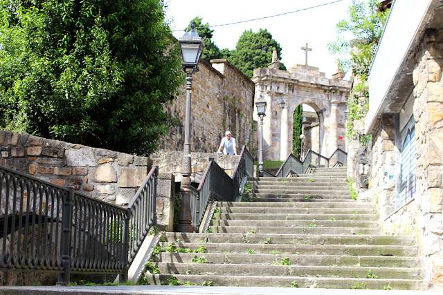 Steps in Bilbao, Spain - London travel blog