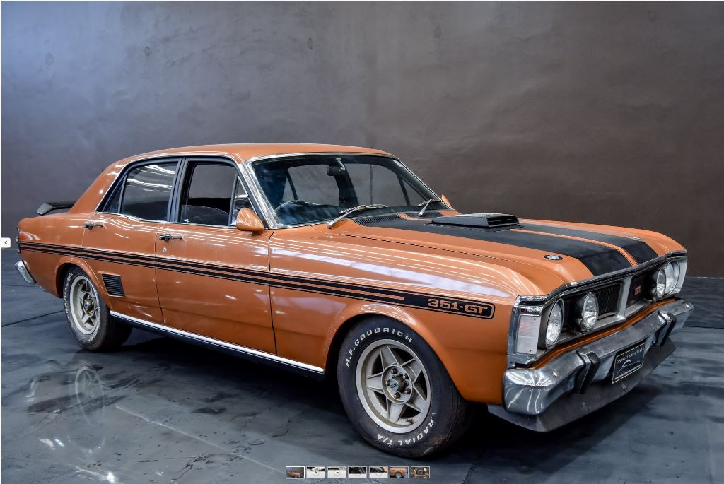 Amazing Barn Find GTHO Phase III For Auction