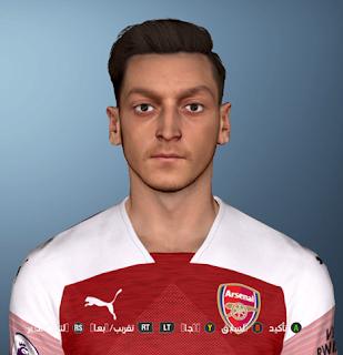 PES 2017 Faces Mesut Özil by Shenawy