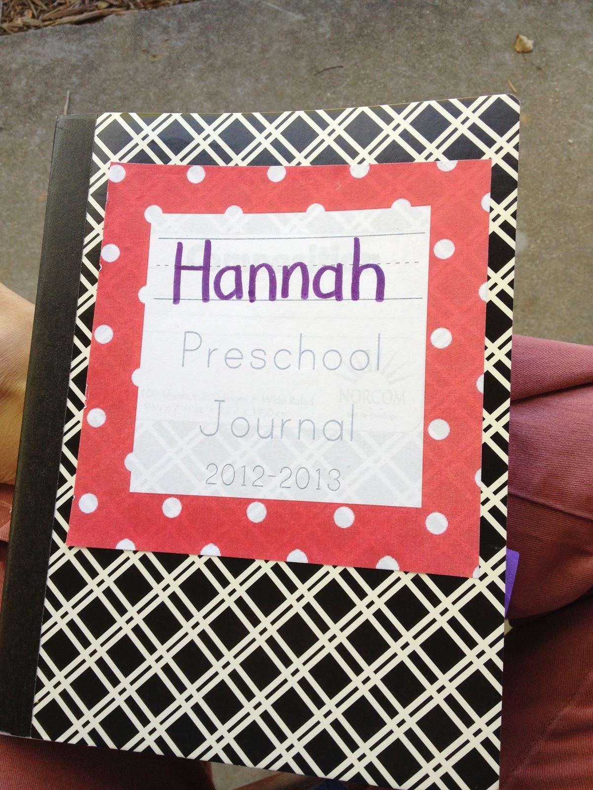 From The Hive Preschool Journals
