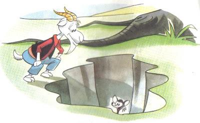 la zorra y la cabra fabula