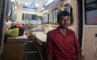 Kerala ambulance driver