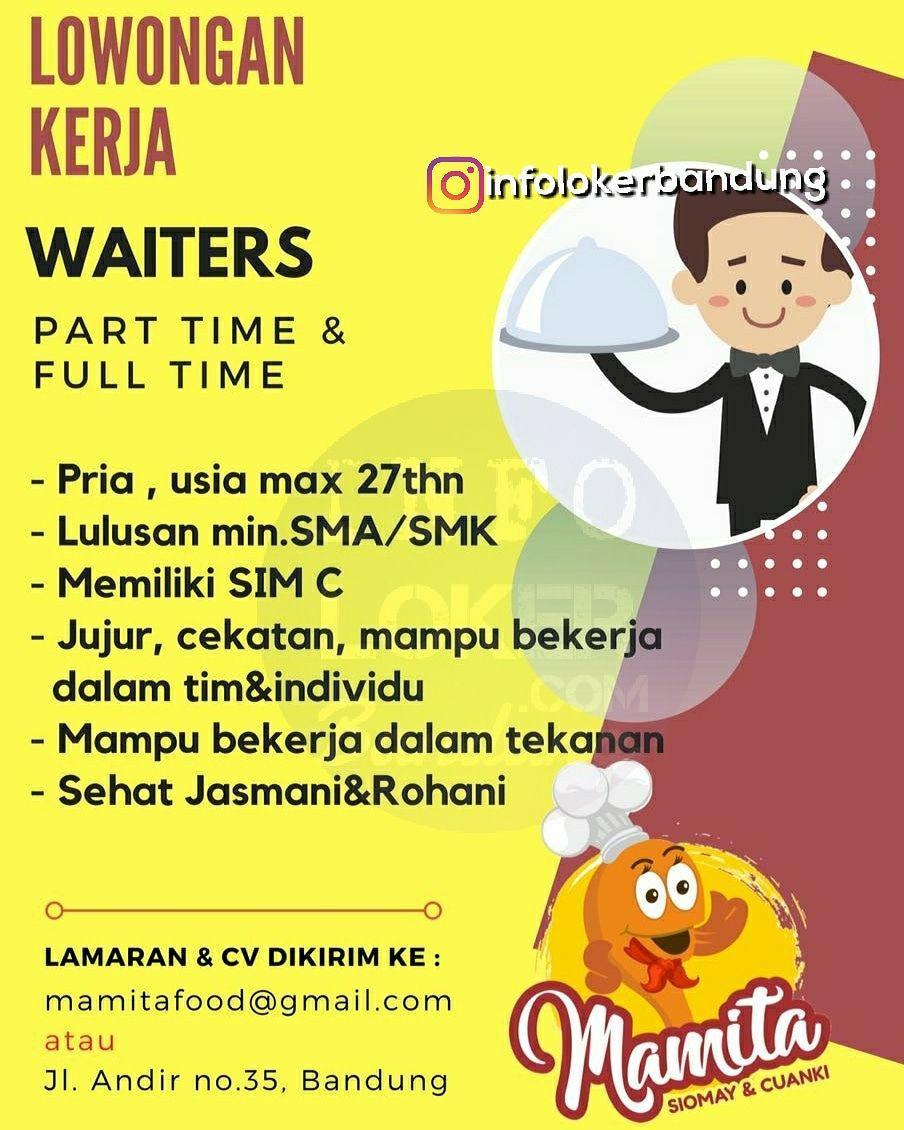 Lowongan Kerja Mamita Siomay & Cuanki Bandung Maret 2018