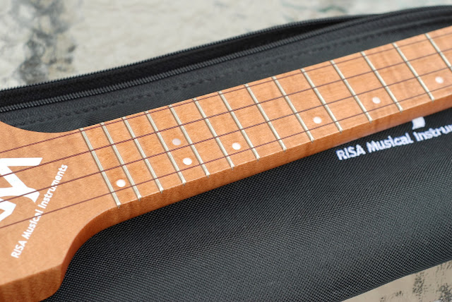 Risa Uke Solid ukulele neck