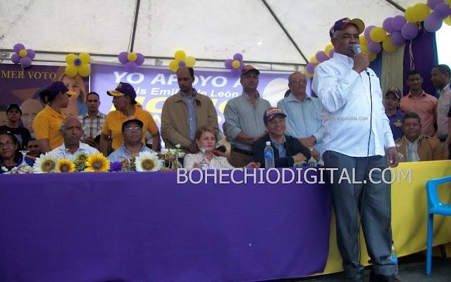 Último acto fallecido presidente PLD, pidió apoyar a Yomayra, presidenta Cámara Diputados